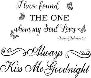 Always Kiss Me Goodnight Quotes