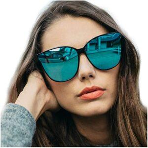 LVIOE Cat Eyes Sunglasses for Women